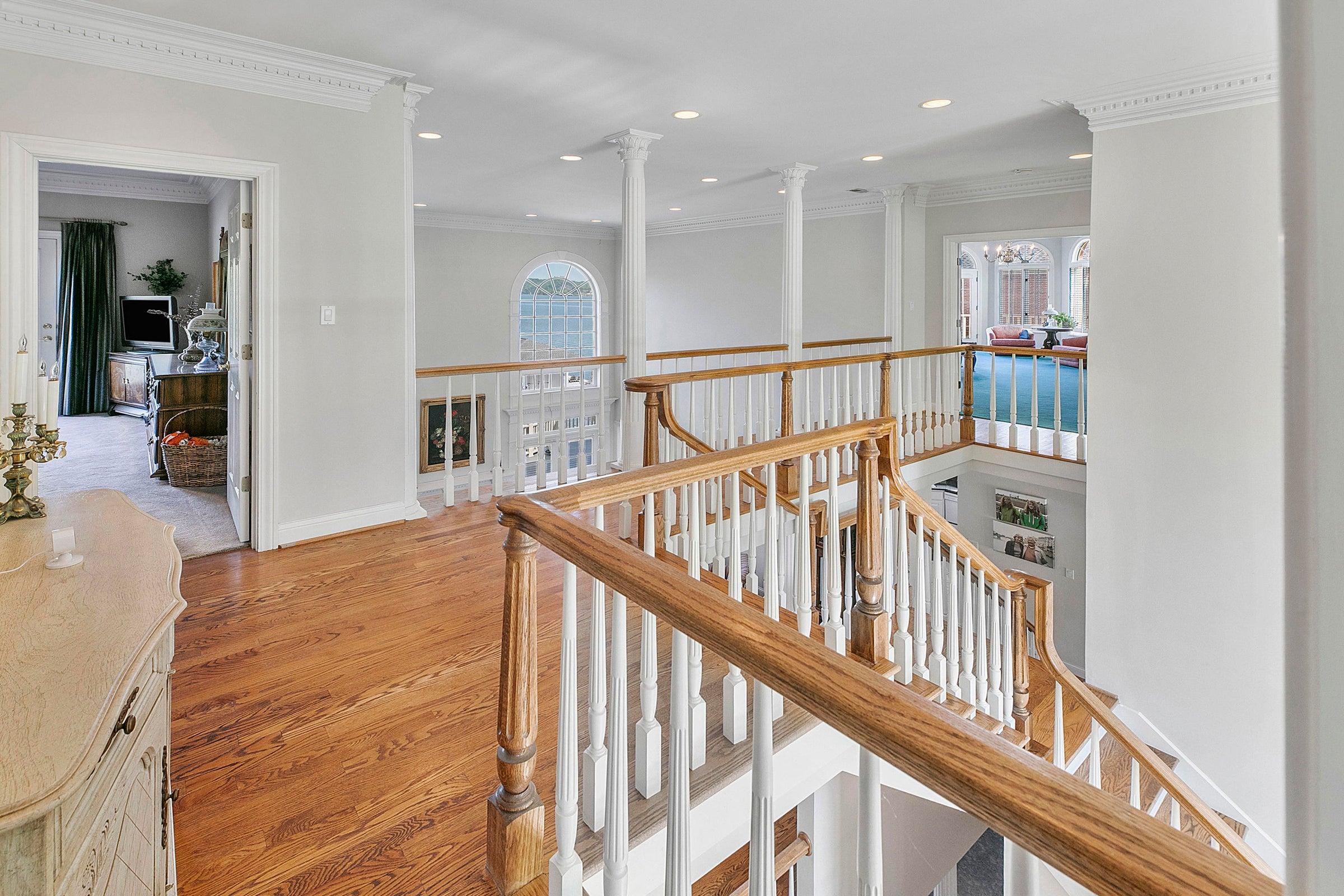 upper level walkway