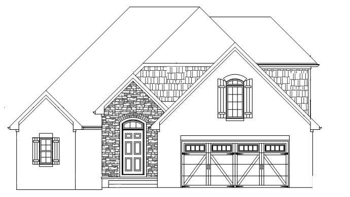 The Worthington Front Rendering
