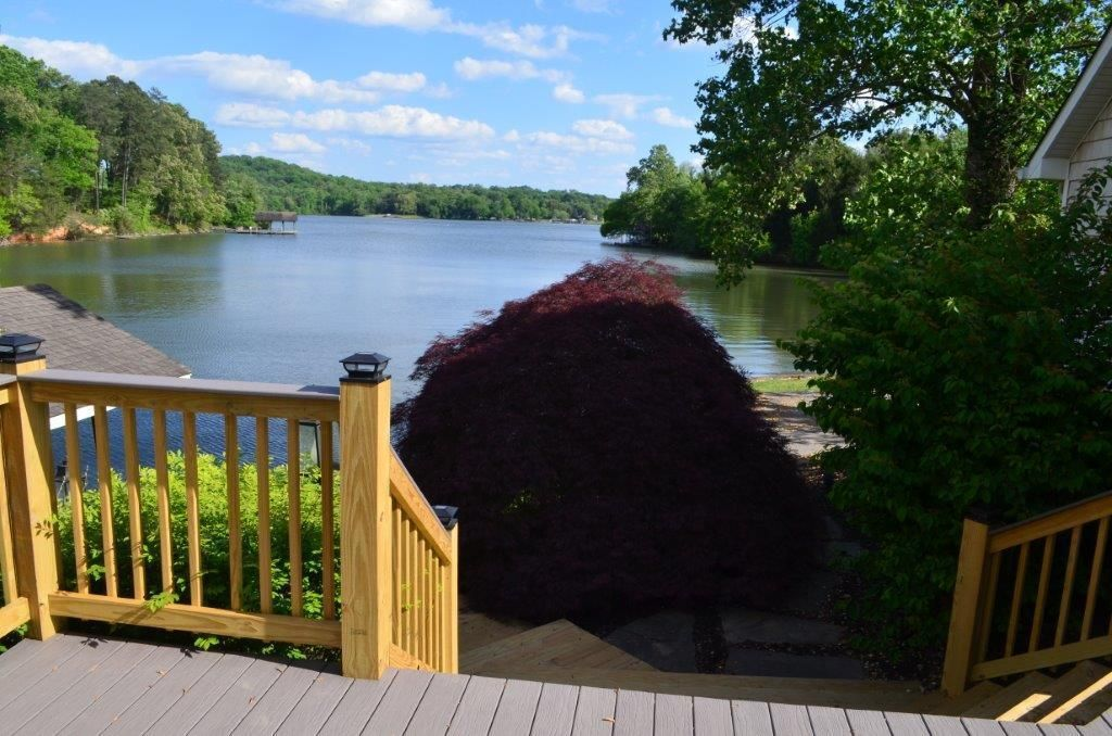 Lake view from new deck