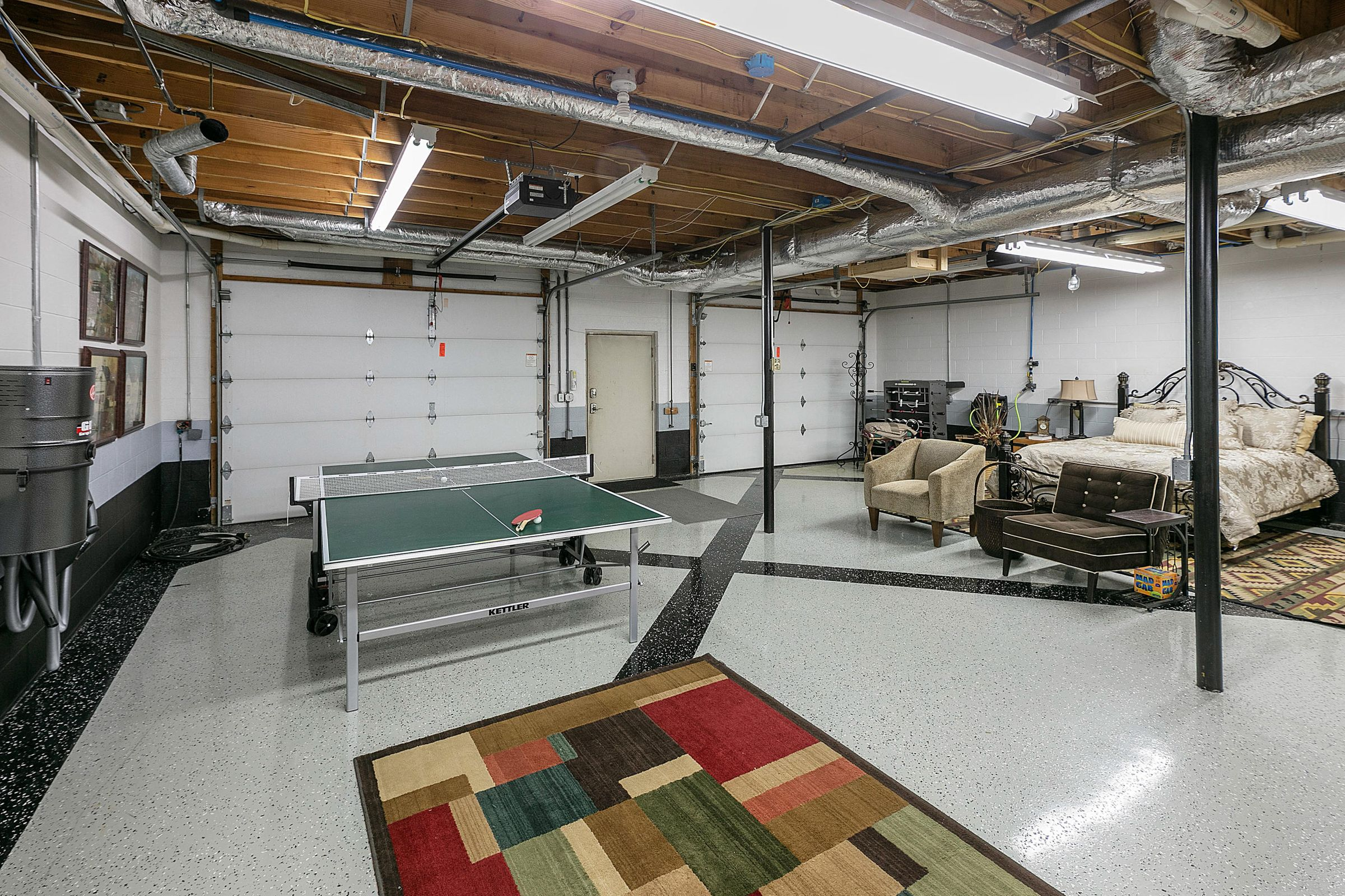 lower level game area