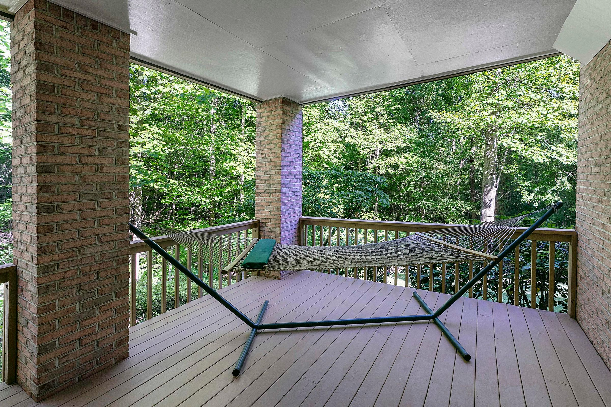 lower level covered deck