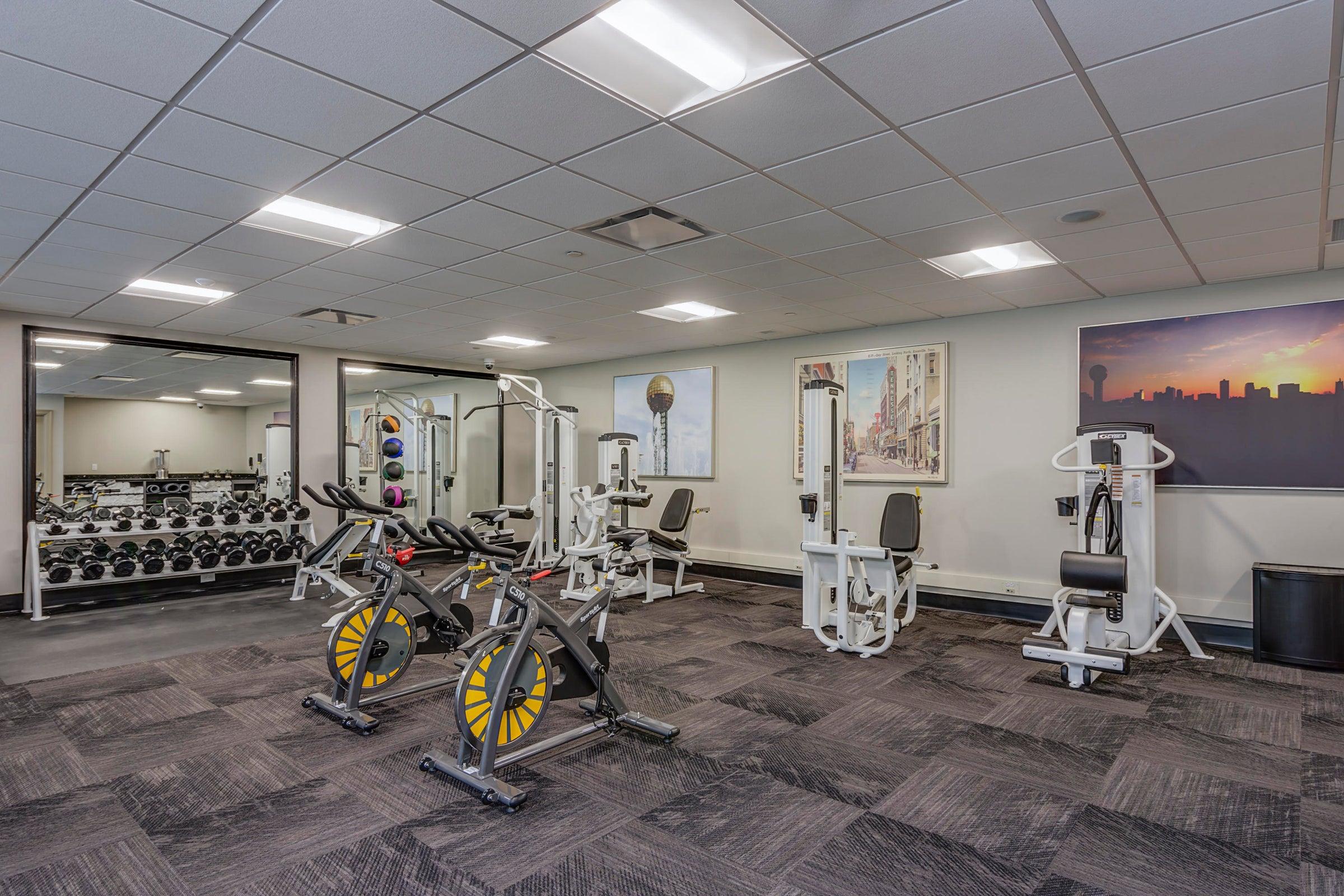 16. Tennessean Hotel Fitness Center