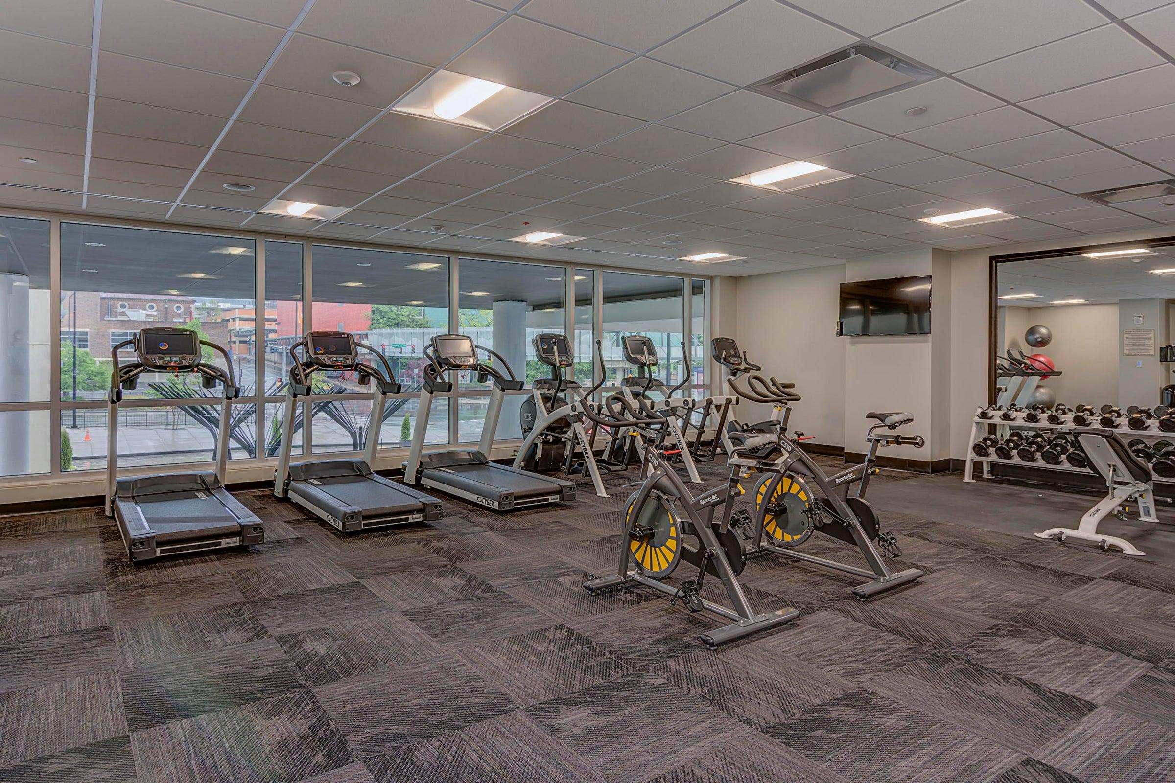 17. Tennessean Hotel Fitness Center