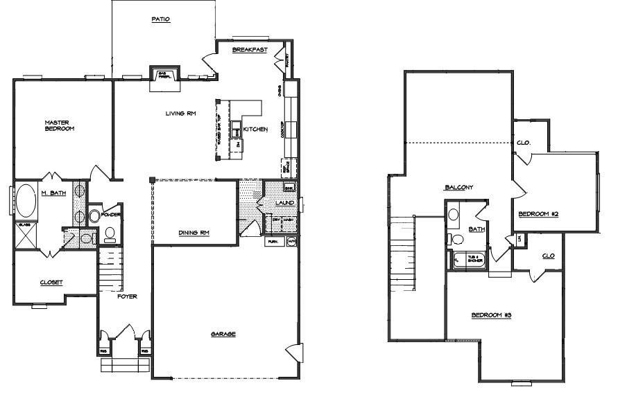 The Worthington Floor PLan