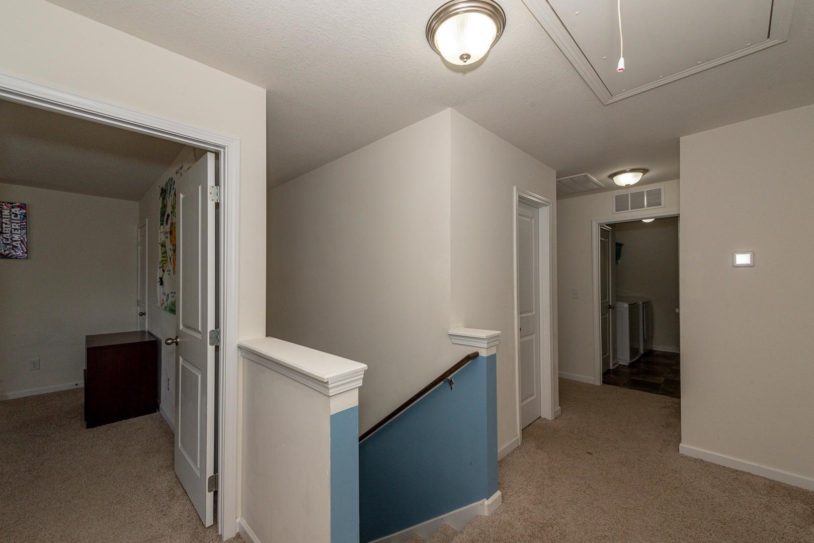 Upper hall area