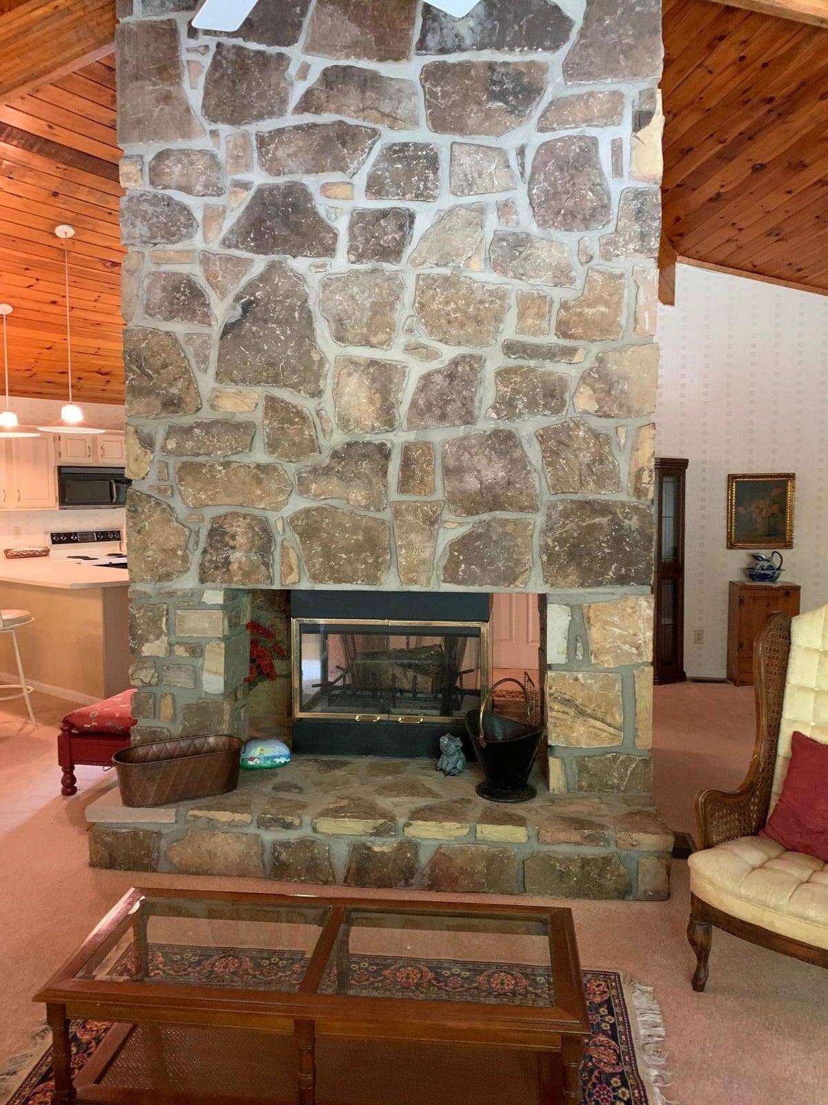 4 Side Fireplace