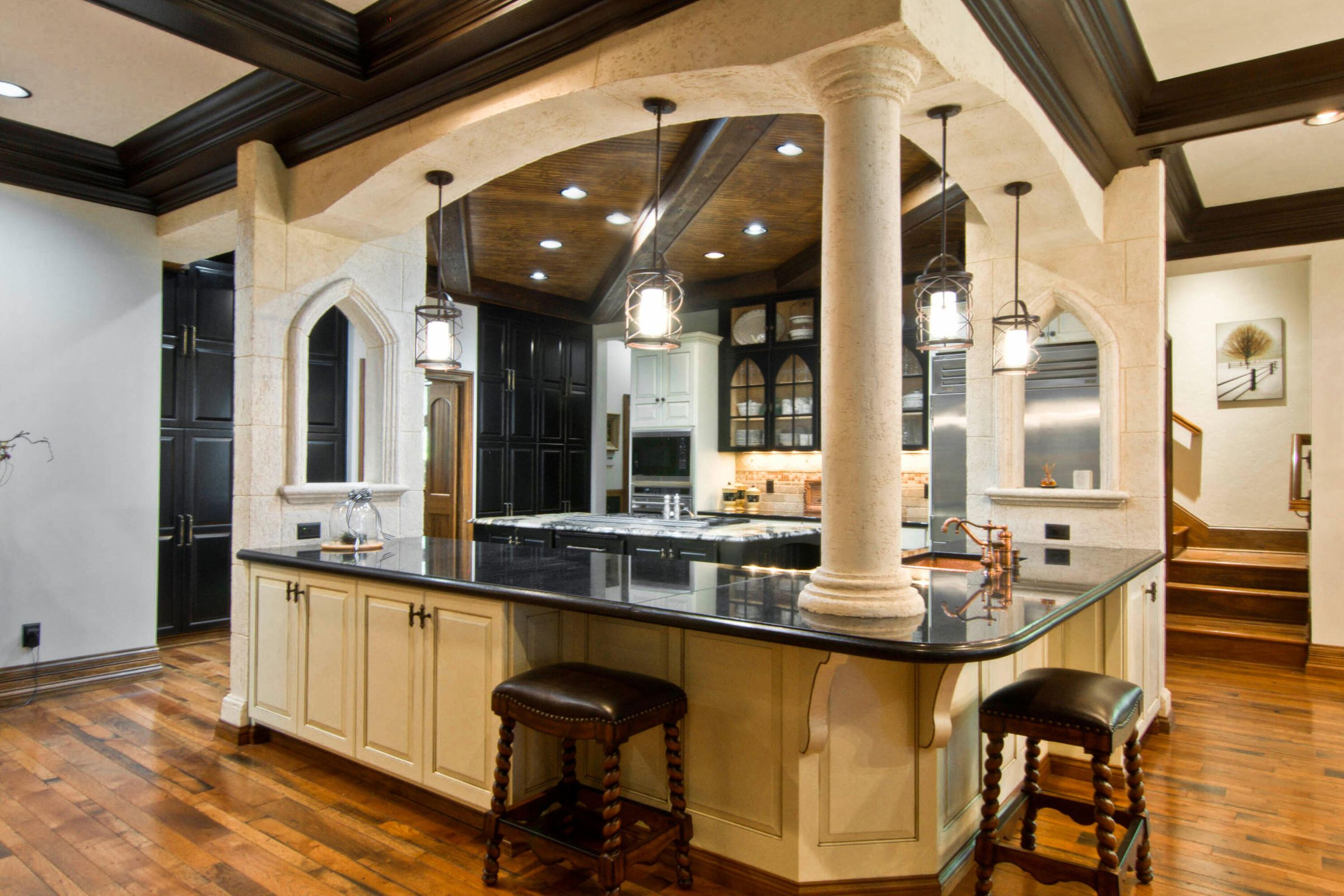 Expansive Counters & Storage Galore