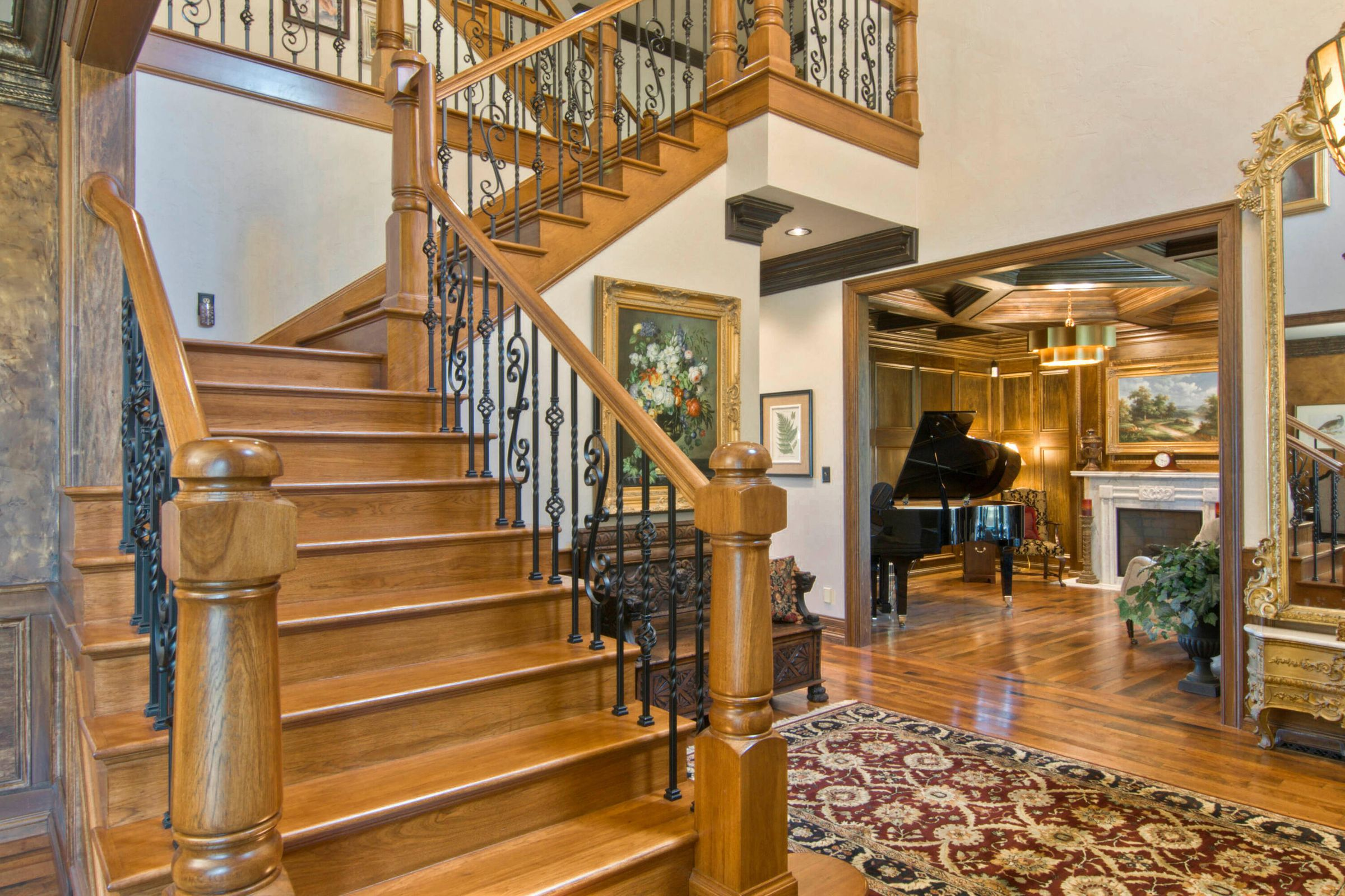 Stunning Entry Staircase