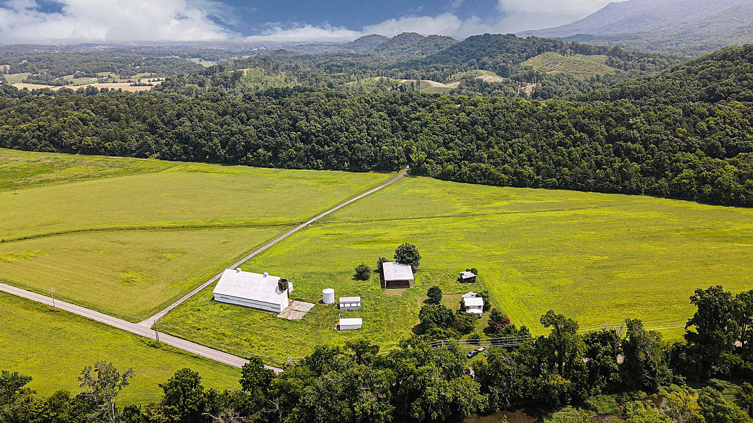 7300 Square Foot Barn & Outbuildings