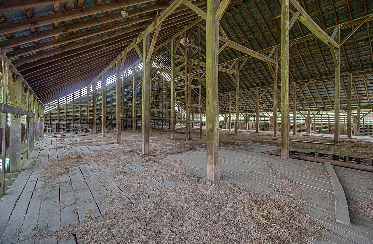Hay Loft in Upper Level of Barn