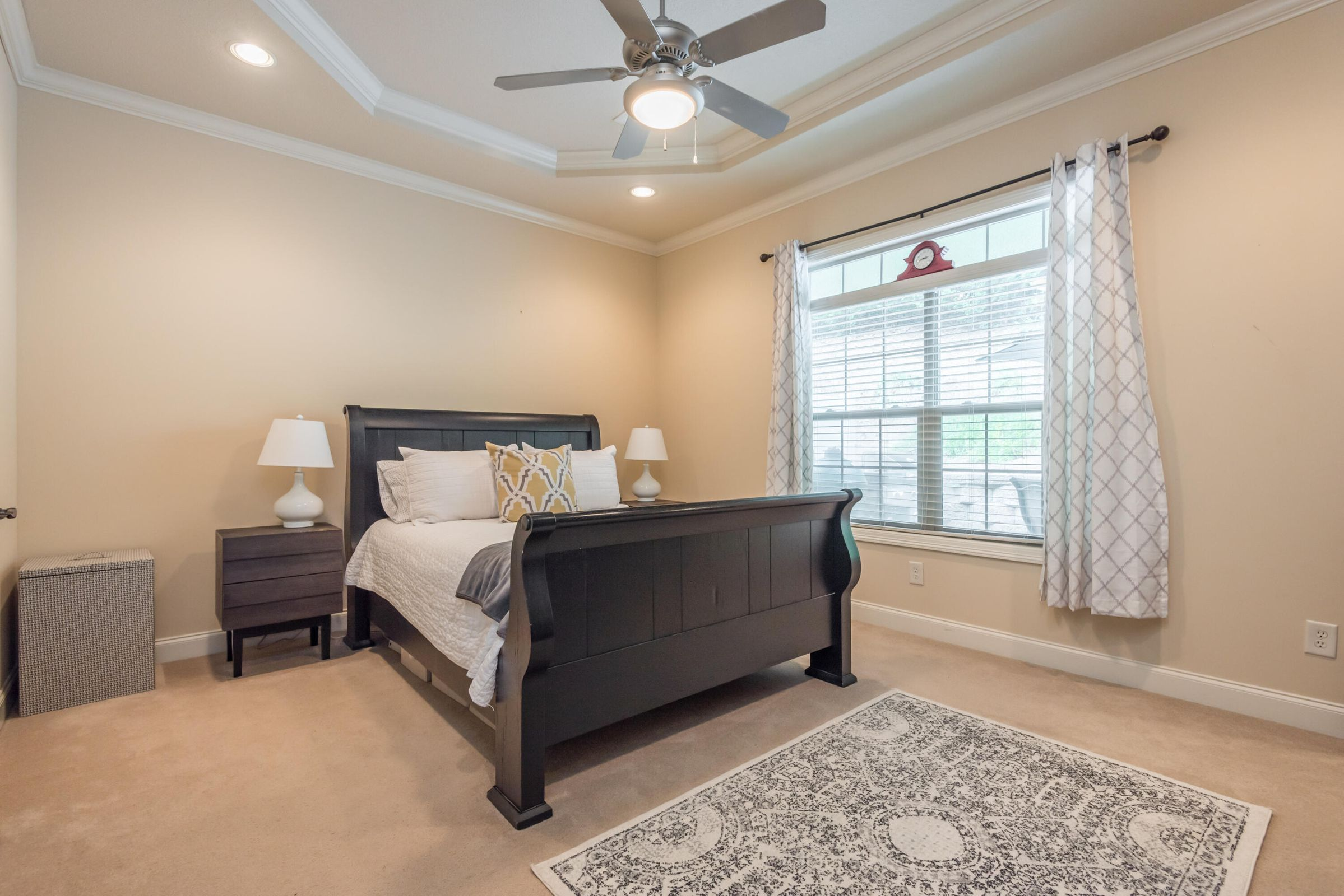 Master Bedroom on the main