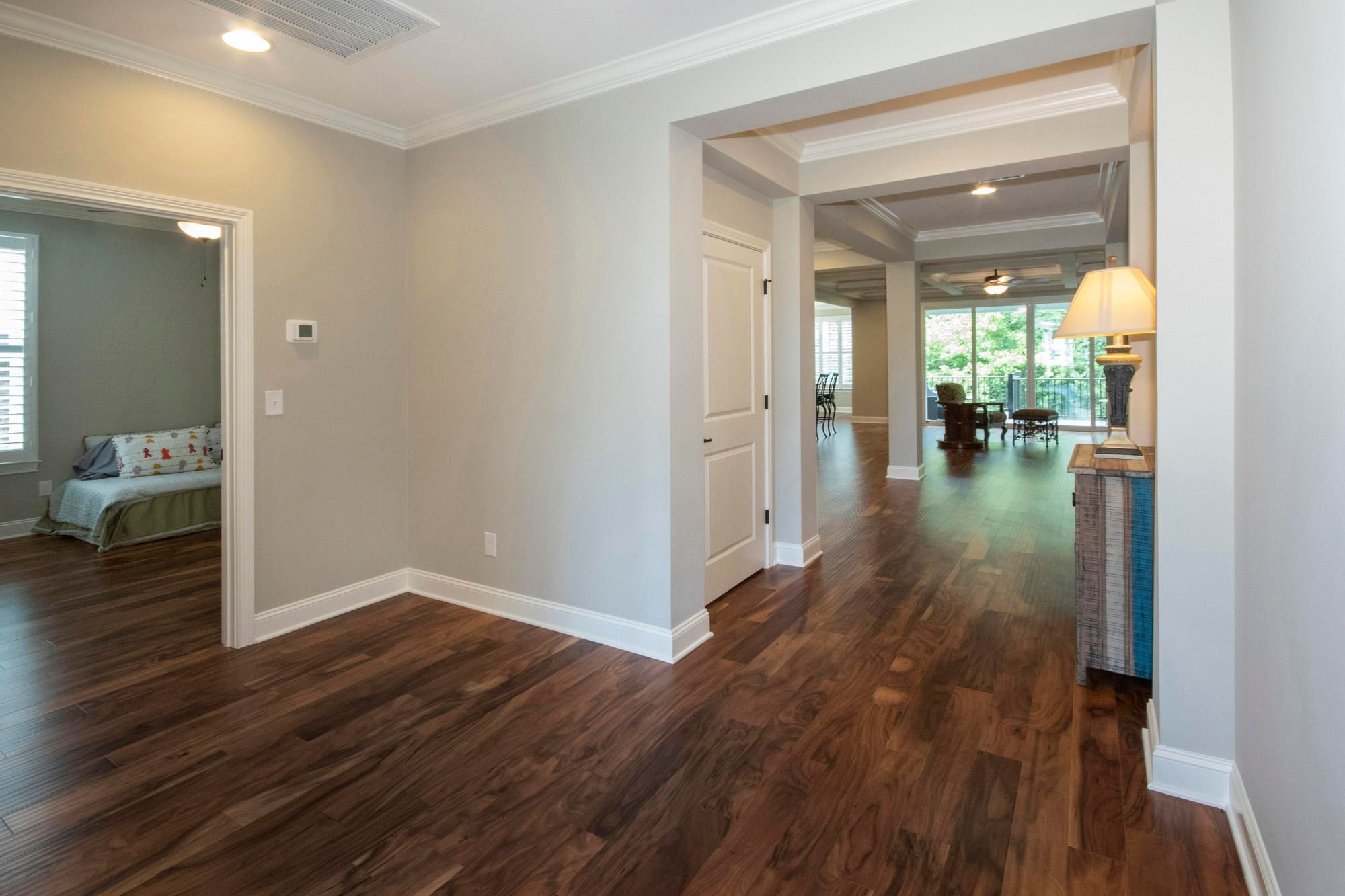 Gorgeous wood floors through main level