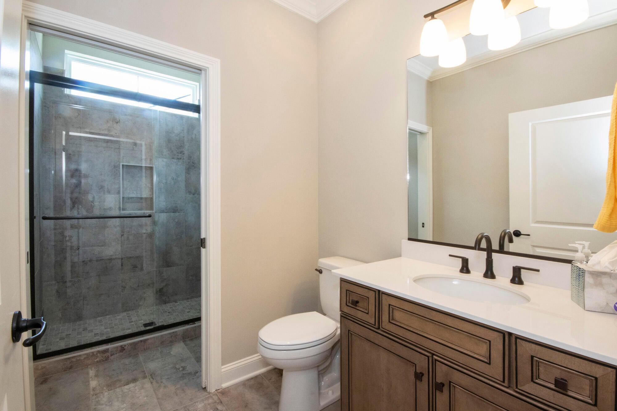 Guest Bathroom, main level