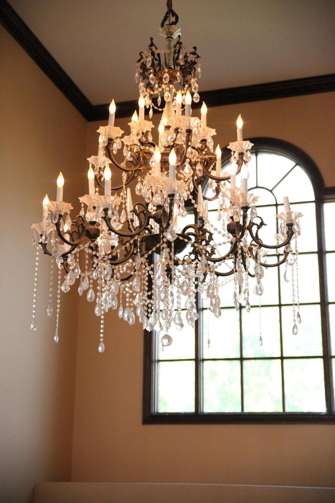 1 chandelier 2