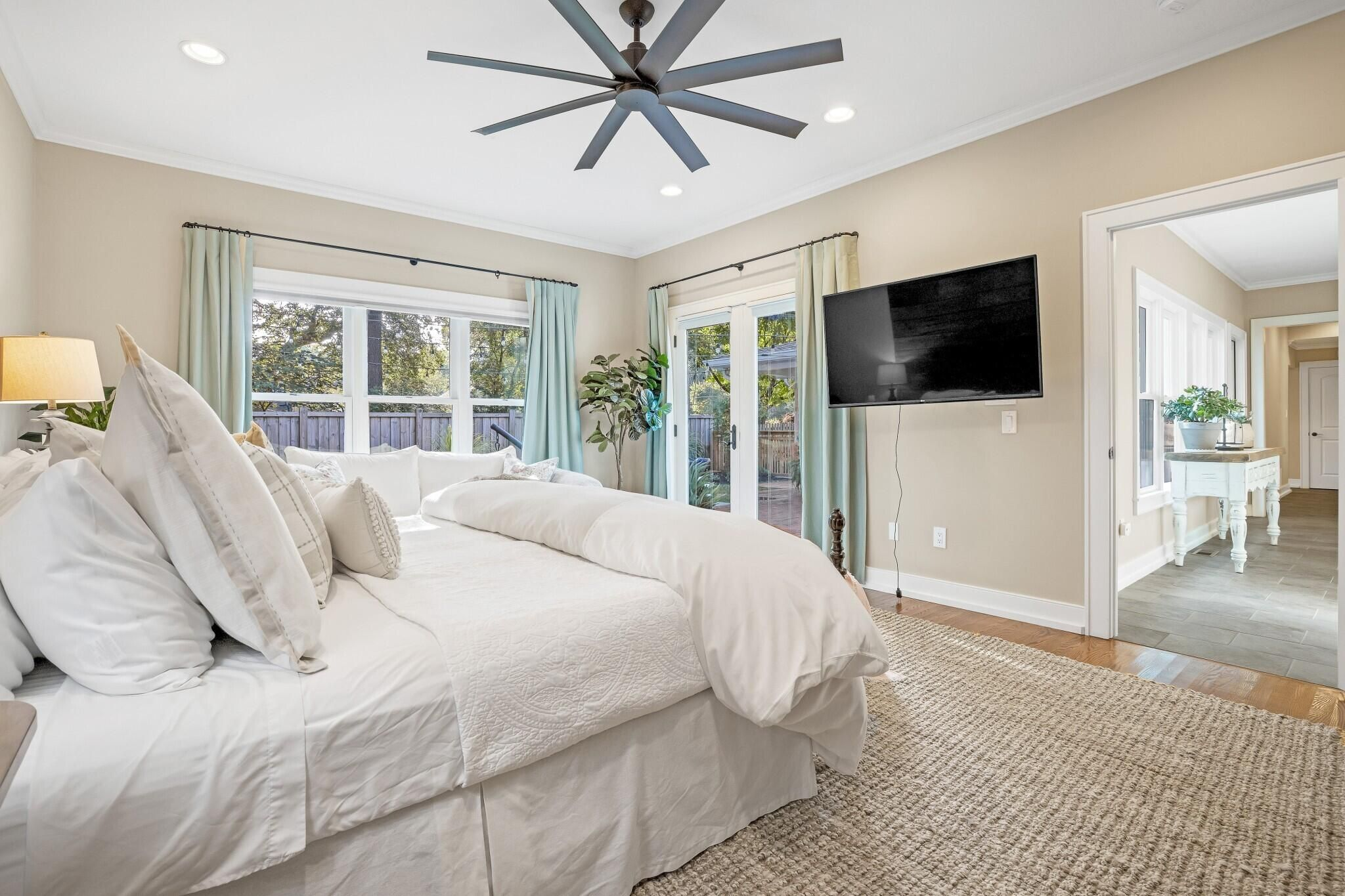 Doors to Patio in Owners' Suite