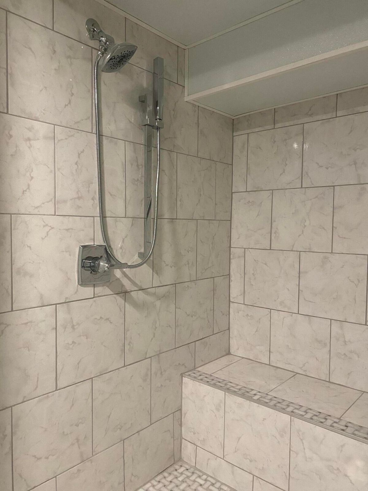 Downstairs Owner's shower