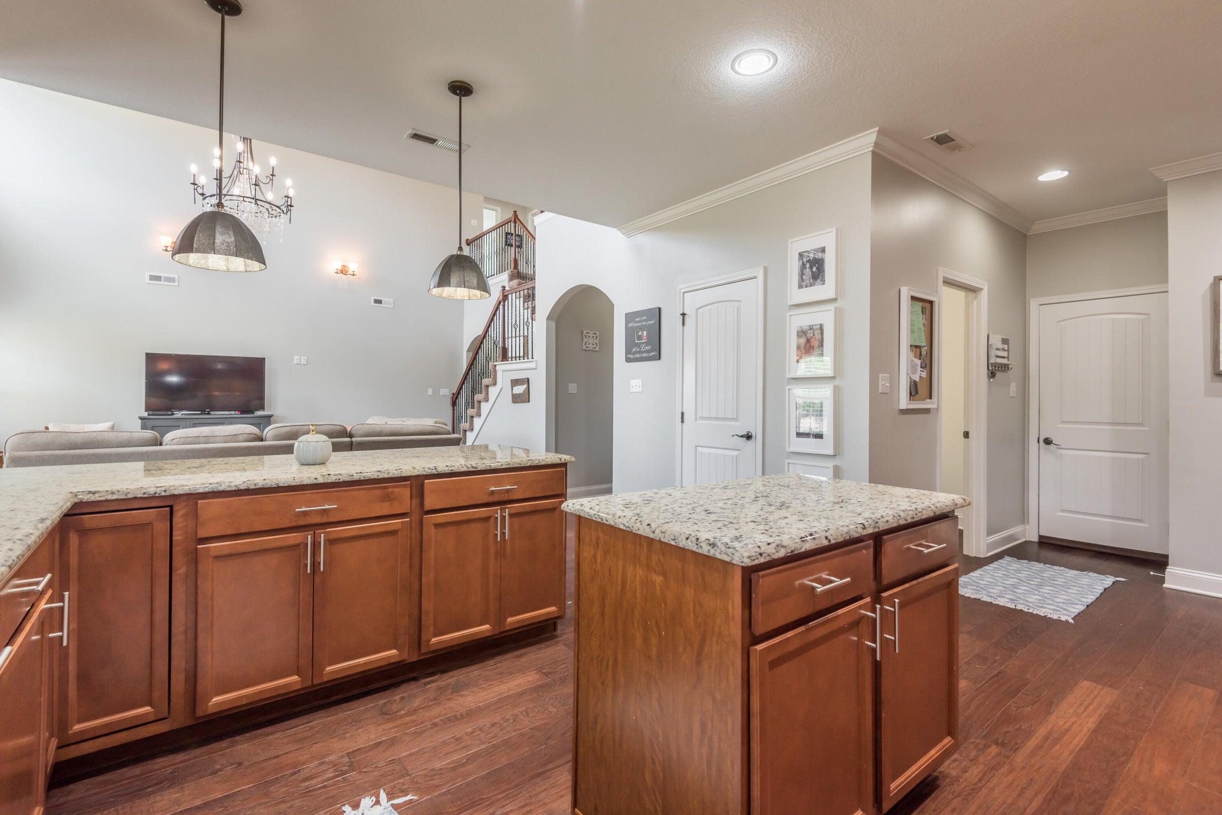 Kitchen Hallway to Powder Room & Garage