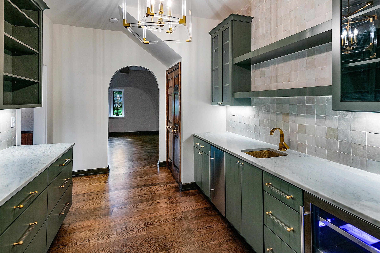 butler pantry area