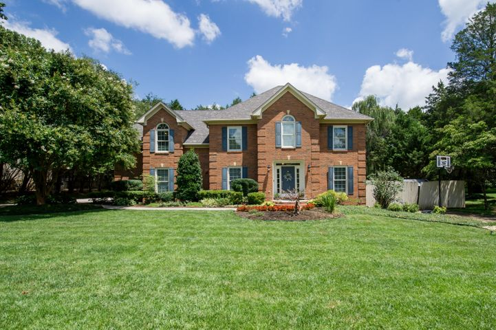 Classic 2 Story Brick in Country Manor