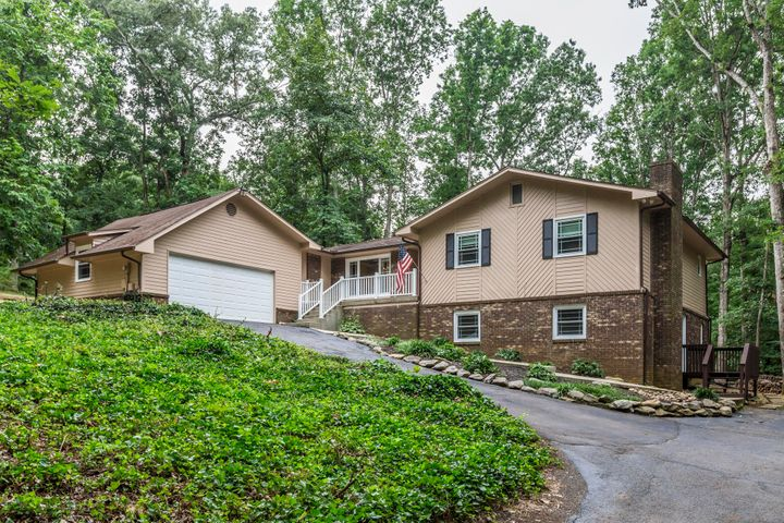 An Updated, Open Plan Basement Rancher on 1.1 Acres in the Heart of Farragut!