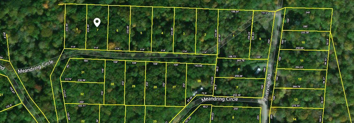 Lot #7 Meandering Circle, Maynardville, TN 37807