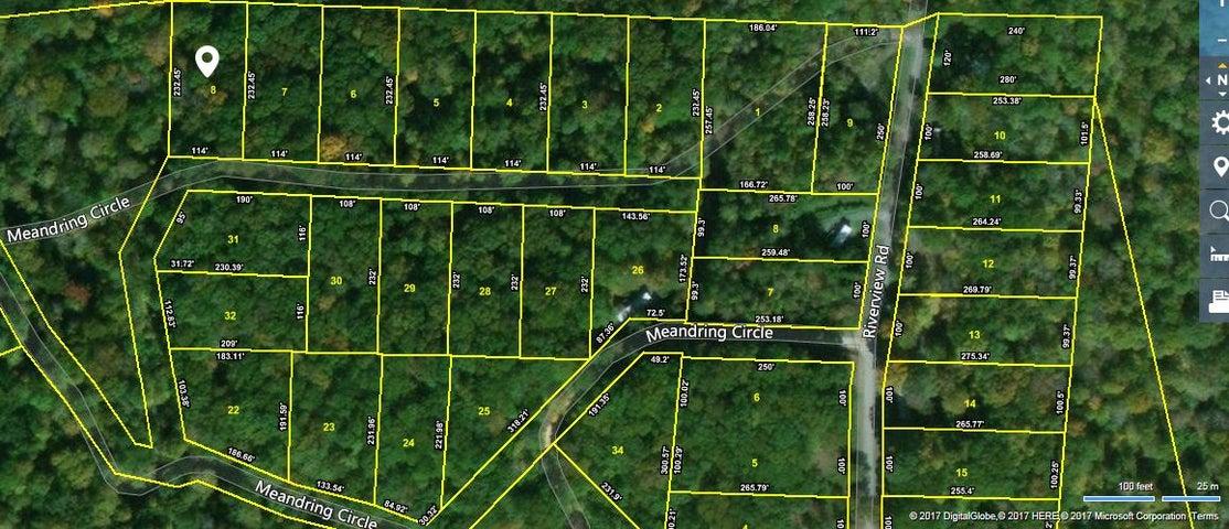 Lot #8 Meandering Circle, Maynardville, TN 37807
