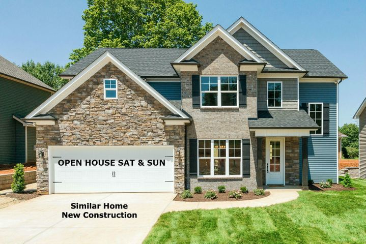 Model Home Open Sat & Sunday at 11919 Black Rd. Laurel floor plan - Similar Exterior