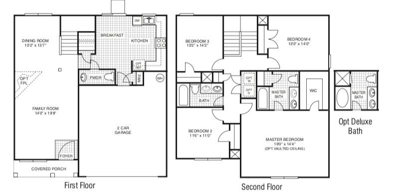 Example of Concord Floor Plan