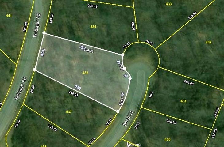 Lot #547 Beryl Court, New Tazewell, TN 37825