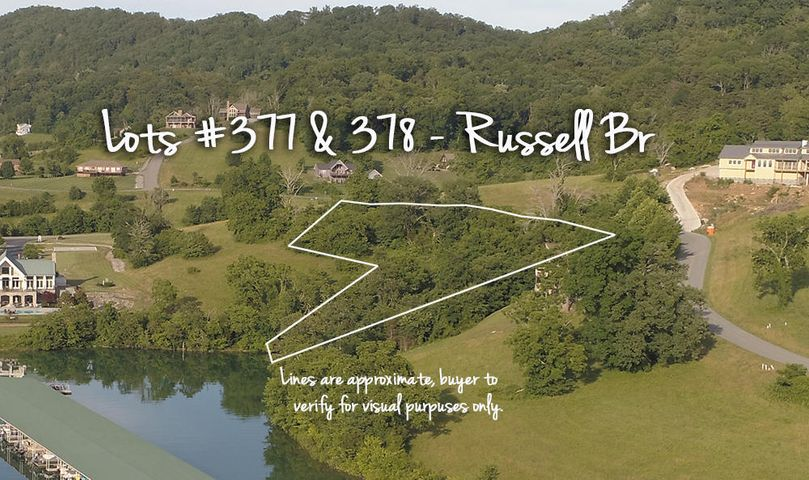 Lot 377 & 378 Russell Br, Sharps Chapel, TN 37866