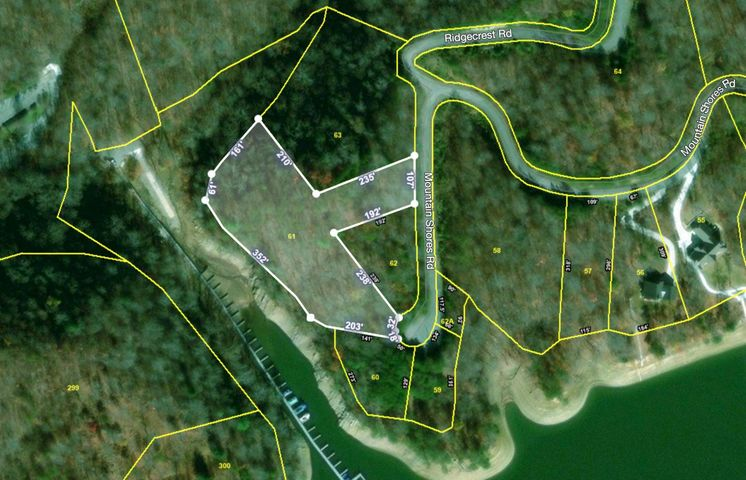 Lot 61 Mountain Shores, New Tazewell, TN 37825
