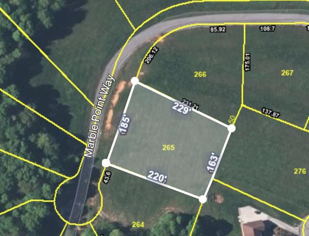 Lot 265 Marble Point Way, New Tazewell, TN 37825