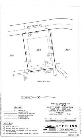 106 Sweetberry St, Lot 388, Oak Ridge, TN 37830