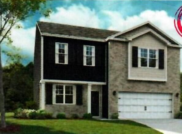 FRONT VIEW OF ELEVATION. NOT CORRECT COLOR PACKAGE.