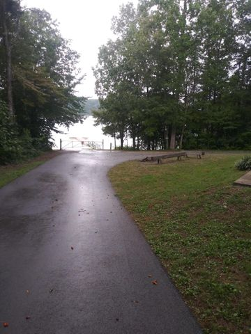 Sub division boat ramp and dock