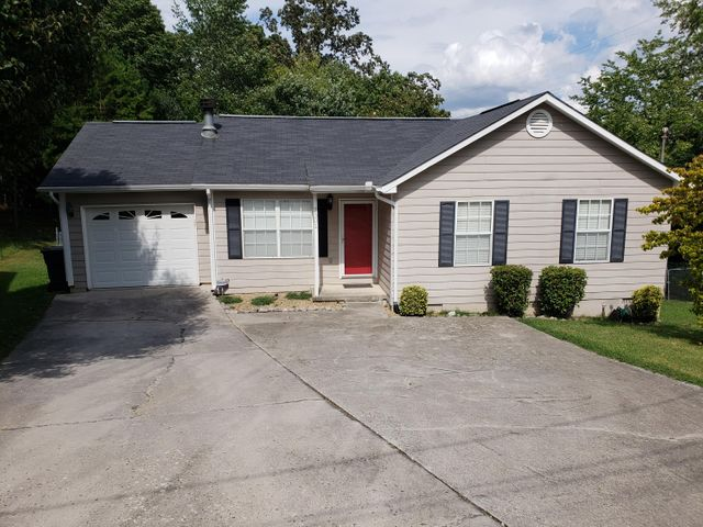 Charming 3 bedroom 1.5 bath rancher with a large, fenced-in yard. Eligible for THDA 100% financing! Buyer to verify square footage.