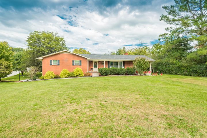 Wow! Renovated brick basement rancher on 1.15 acres in Powell!  Amazing location, beautiful home and great big yard!  This home has impressive outdoor space for relaxing and entertaining including two covered porches, deck and fire pit area.  The roof, water heater and windows have all been replaced.  The large kitchen has been remodeled with new cabinets, granite countertops & stainless appliances.  Other nice features include tile walk-in shower in master bath, big laundry room with storage, hardwood floors, open floor plan, second family room in basement and extra storage.  Call to set up your appointment today!  Square footage is approximate.  Buyer should verify.