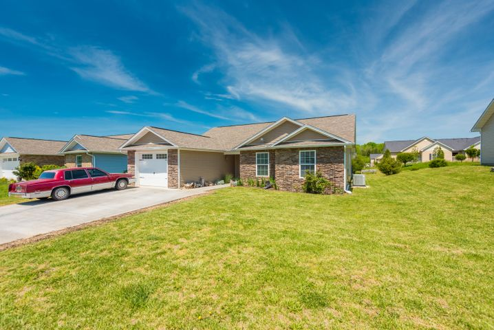 One level home in downtown Sevierville! Within walking distance to the parkway but yet secluded enough to be away from the traffic. Nothing here is older than 4 years old and is ready for a new owner! One car attached garage, covered patio, and large driveway.