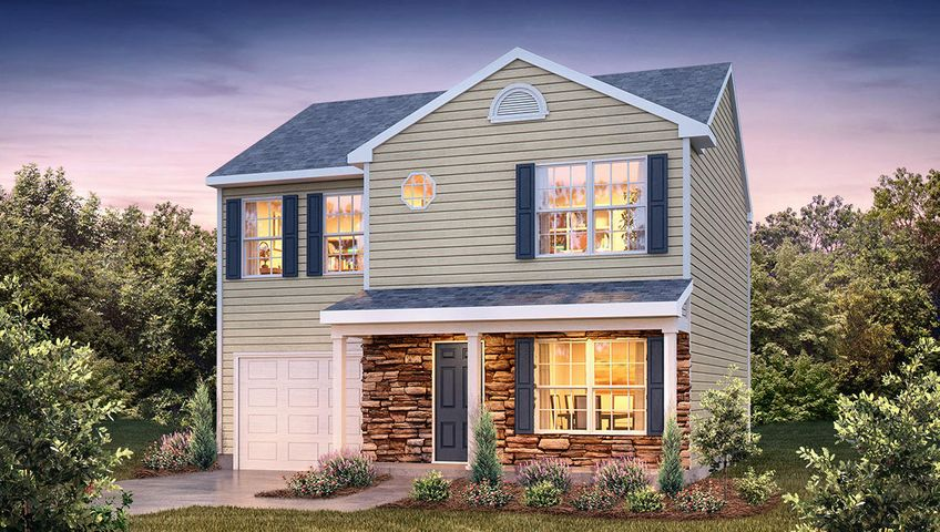 *To Be Built* This home is an incredible value with all the benefits of new construction & a 10 yr. structural Home Warranty! Model Home Open 7 days a week - Mon-Sat, 10:00am-6:00pm & Sunday, 1:00pm-6:00pm. When using builder's preferred lender & title company, buyer will receive a portion of closing costs paid & a Move-In Package consisting of side-by-side refrigerator, 2'' window blinds, & garage door opener w/ purchase of this home. Taxes listed are an estimate.