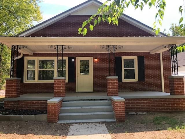 GREAT SEVIERVILLE LOCATION IS READY AND WAITING..... THIS 1,269 SQ FT ALL BRICK IS SUPER CLEAN AND HAS BEEN UPDATED BUT HOLDS SOME OF ITS ORIGINAL CHARM WITH THE BIG FRONT PORCH, ORIGINAL WOOD FLOORS, ETC, ENDLESS POSSIBILITIES WITH THIS WELL KEPT PROPERTY - BIG LIVING ROOM, BIG EAT IN KITCHEN, 4 BEDROOMS, 1 1/2 BATHS, UTILITY ROOM, SM OUTBUILDING, EXTRA PARKING, CARPORT, ENTRANCES FROM PARK ROAD OR RIDGE ROADS. OR, LIVE IN PART / RUN A BUSINESS FROM PART (ZONED C 3) GREAT SEVIERVILLE LOCATION! MUST SEE TO APPRECIATE! PRICED TO SELL @ $199,900!