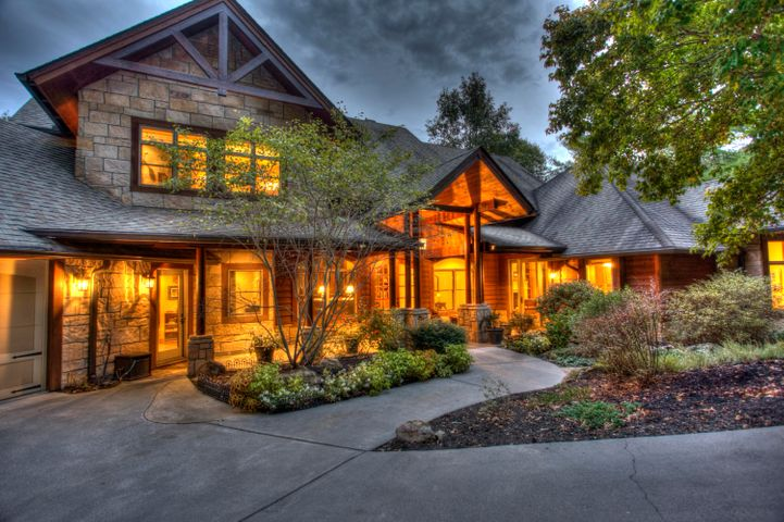 Front Driveway View