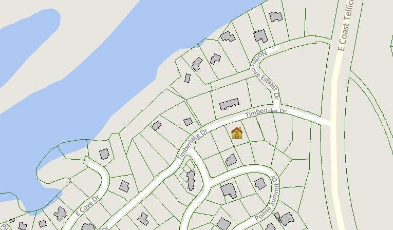 Lot 172 location map