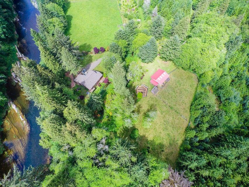 847 Hamer Rd, Siletz, OR 97380 - Aerial of 847 Hamer Road