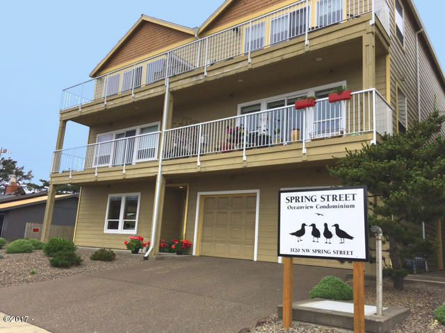1120 NW Spring Street, I, Newport, OR 97365 - Front of Unit