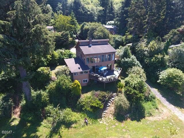 2963 NE East Devils Lake Rd, Otis, OR 97368 - Aerial