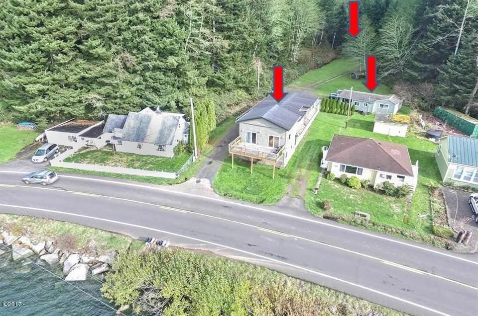 4283 Yaquina Bay Rd, Newport, OR 97365 - Aerial w/ arrows