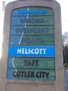 LOT 5,10 SW Beach Ave, Lincoln City, OR 97367 - Nelscott sign