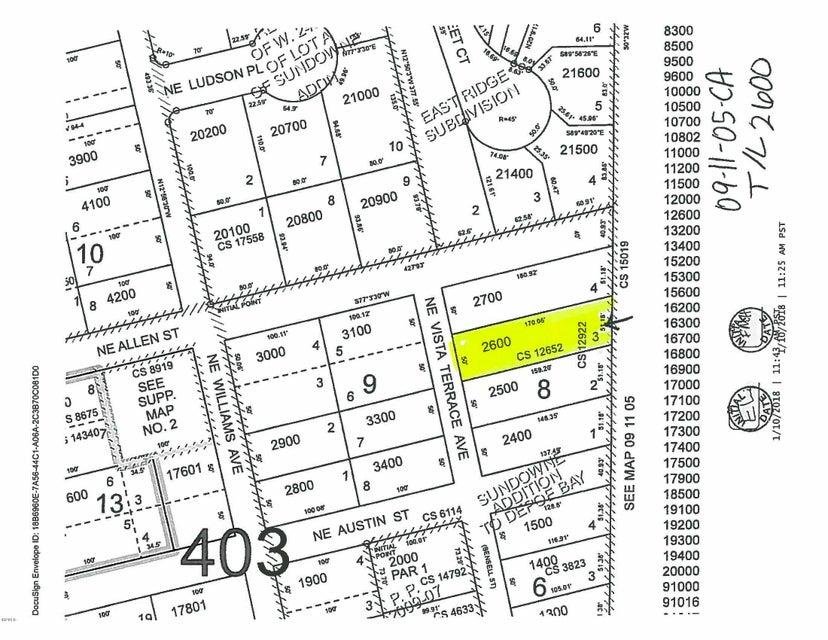 100 BLK Vista Terrace Lot 3, Depoe Bay, OR 97341