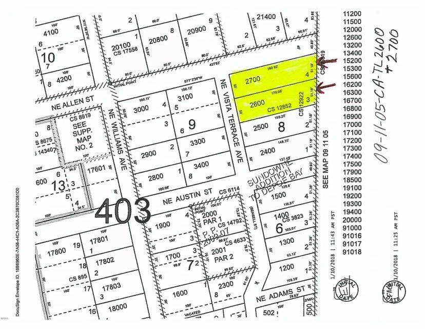 100 BLK Vista Terrace Lots 3&4, Depoe Bay, OR 97341