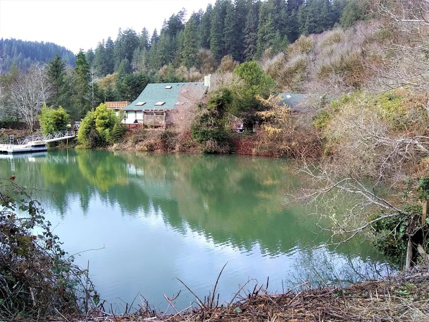 430 E Evans Dr, Tidewater, OR 97390 - canal frontage